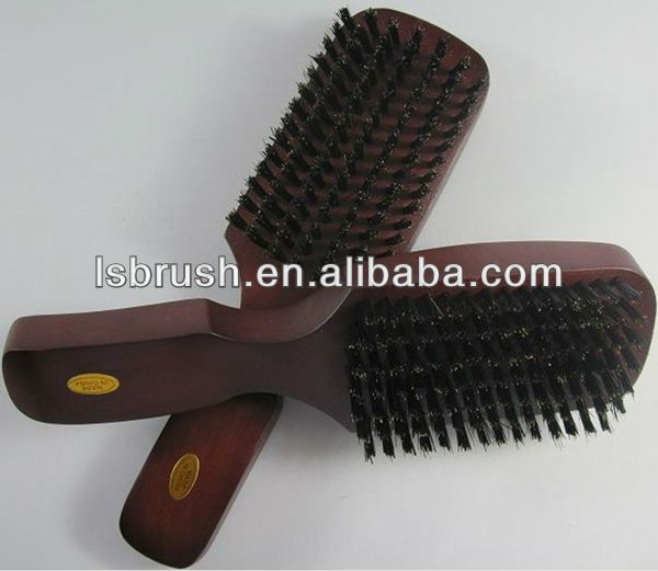 1. mens hair brush  2. with soft boar bristle, very comfortable.