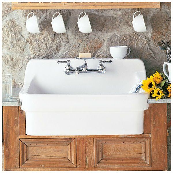 Country 30 L X 22 W Farmhouse Kitchen Sink With Images