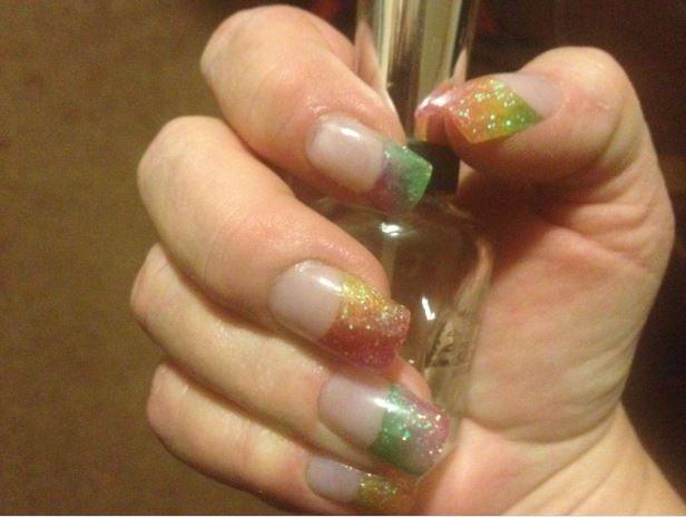 Rainbow Nails...naildiva.org