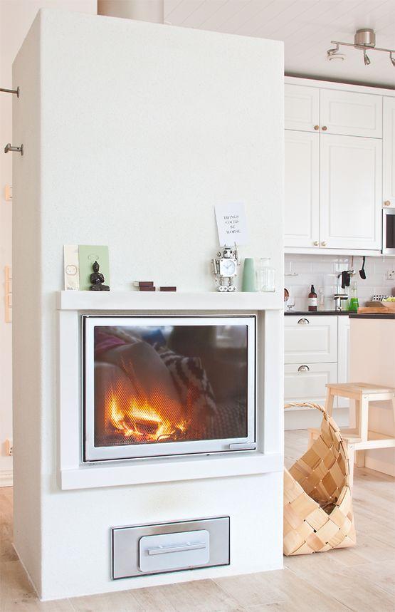 Un hogar n rdico con una decoraci n low cost chimeneas for Arredamento nordico low cost