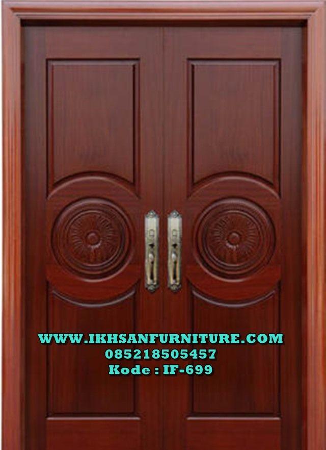 Pintu Minimalis Modern Kupu Tarung