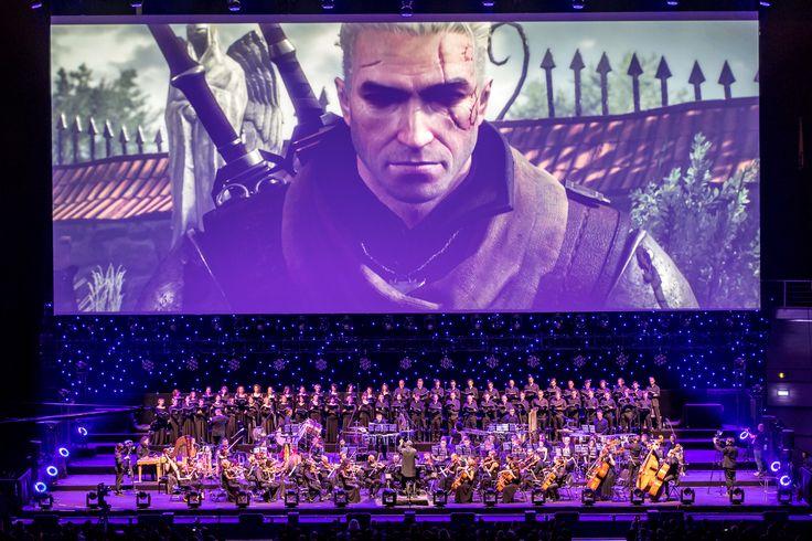 Festiwal Muzyki Filmoweh 2016 Video Game Gala: Wiedźmin 3 Dziki Gon Fot. Wojciech Wandzel, www.wandzelphoto.com