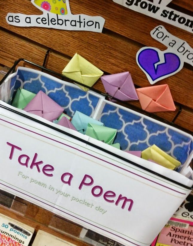 National Poetry Month It's about showcasing the gems in your poetry collection that haven't been circulating and need some attention. While I noticed that the website for National Poetry Month focu...