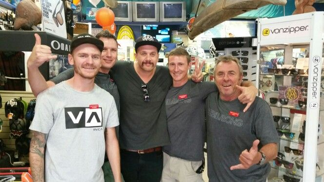 Chilling out with Jack Parow.
