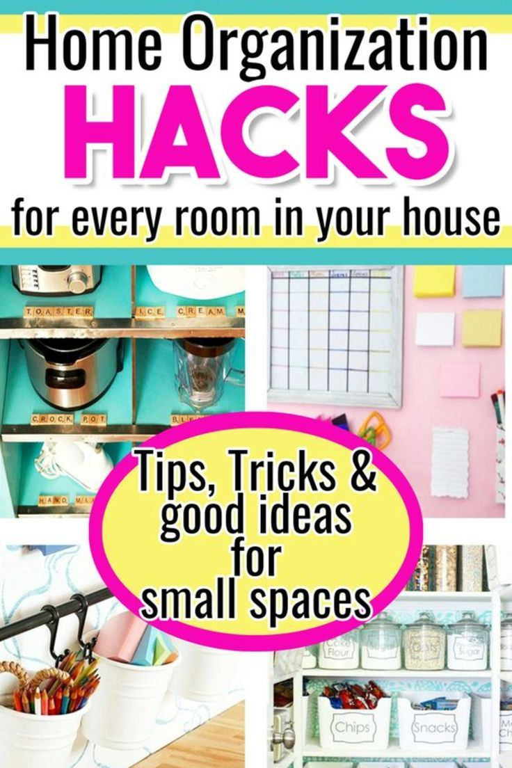 4 DIY Home Organization Hacks For Every Room, Nook and Cranny Of