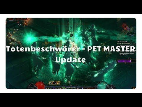Diablo 3: Necro: PET Master Build