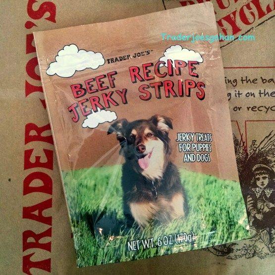 Trader Joe's Beef Recipe Jerky Strips 6oz/170g $1.99 トレーダージョーズ ビーフジャーキー