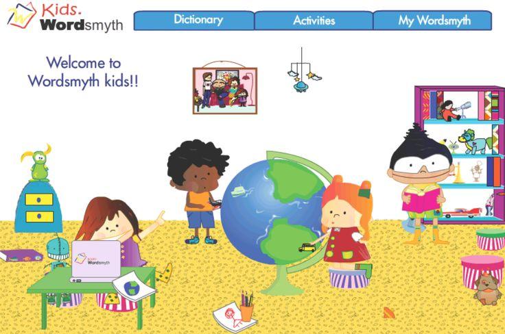 Excellent free online dictionary site esp for children