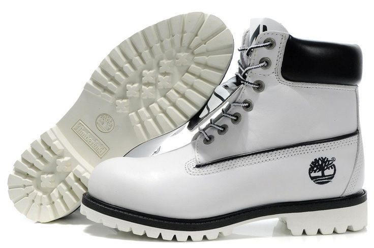 Timberland-Boot-For-Men-in-White-Black