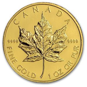 2011 Canadian Gold Maple Leaf Coin 1oz .9999 Fine 2011_CANADIAN_GOLD_MAPLE_LEAF_COIN_1OZ - $2034.11