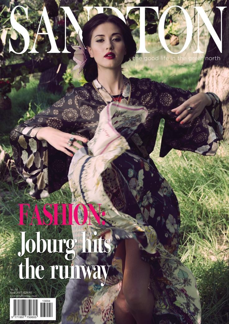 Sandton Magazine Cover for April 2013