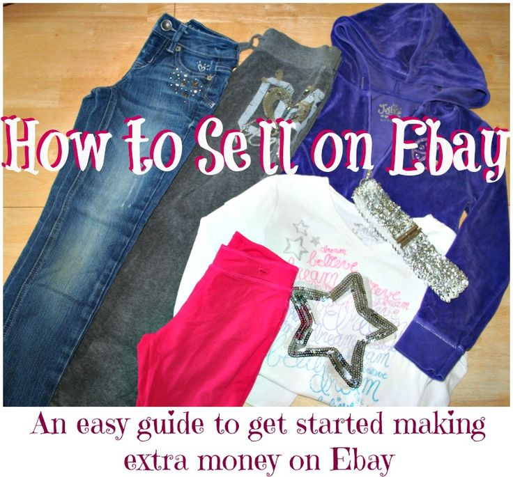 Already selling on eBay, but pin now and read later to see if any new helpful tips or info....How to Get Started Selling on Ebay