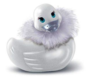 Big Teaze Toys Travel Size I Rub My Duckie Personal Massager, Paris, White by Big Teaze. Save 2 Off!. $16.64. Removable Feather Boa. Quiet Motor & Soothing Vibrations. Waterproof. Genuine Swarovski Crystal. Perfect for the Honeymoon. Travel-Size I Rub My Duckie Paris is a petite version of the Fabulous Paris Duckie, but with surprisingly strong vibrations and a compact size that makes her a discreet travel companion!  Perfect for all occasions, Travel-Size Paris makes an ideal gi...