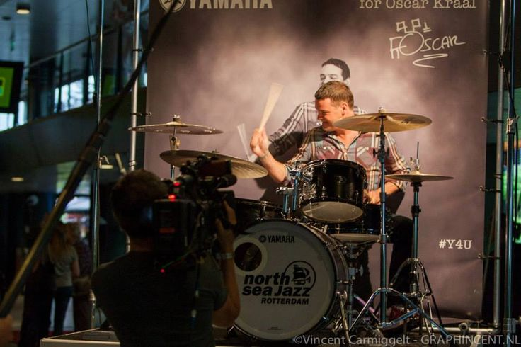 North Sea Jazz opening door Oscar Kraal | Yamaha Music Benelux | #Drummerspraat