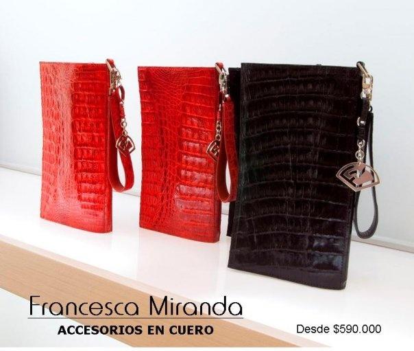 Francesca Miranda - Leather accesories
