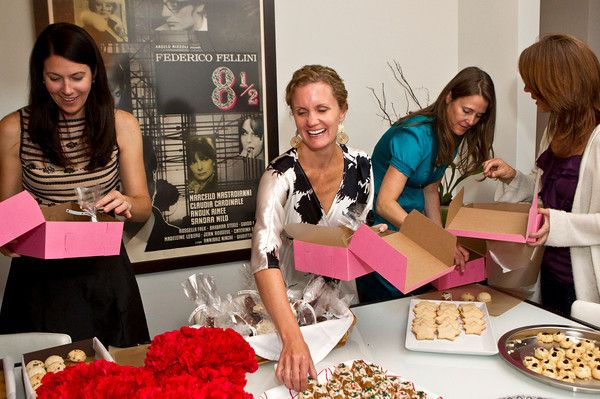 cookie exchange party: