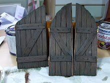 My How-To tutorial for 1:12 scale doors - need these for my Gnome houses