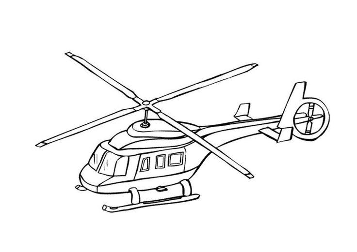 8 best Ausmalbilder Hubschrauber images on Pinterest
