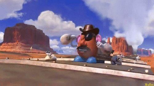 Sr cara de patata atraca el tren - Toys Story 3 * Dinero, Dinero, Dinero. Sr cara de papa - Toys Story 3. Historia del juguete 3