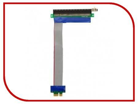 Аксессуар Espada PCI-E X1 to X16 EPCIEX1-X16rc