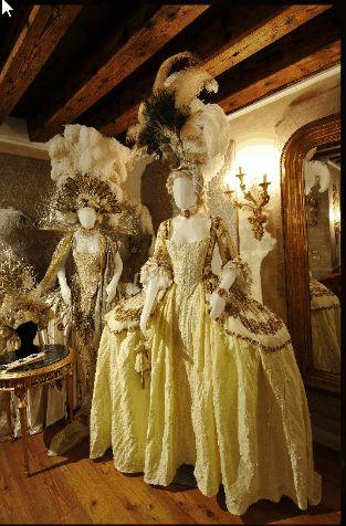 Baroque 18th century rococo fashion Venice Carnival Il Ballo del Doge