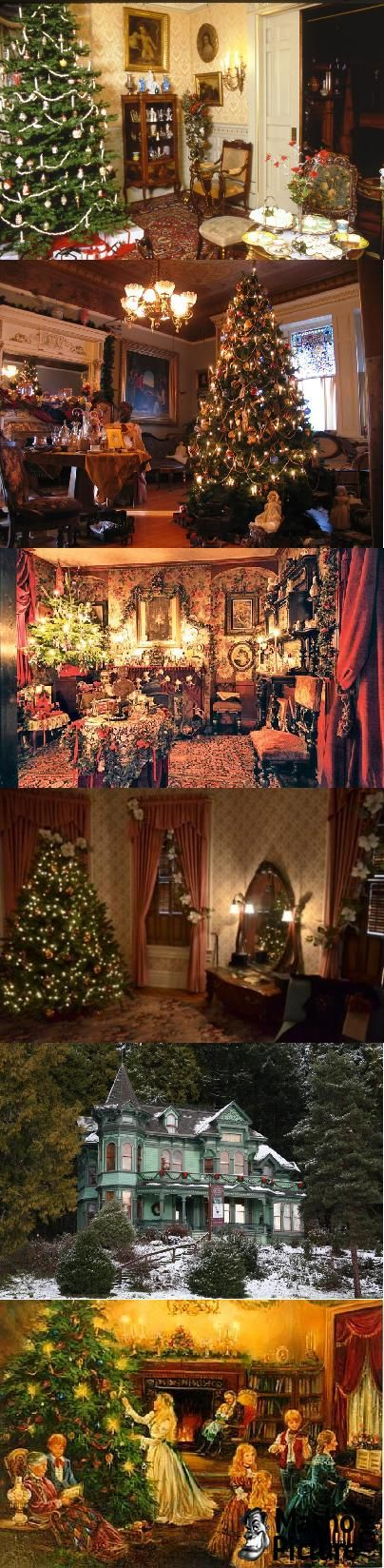 Victorian christmas house - 7 PHOTO!