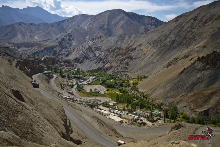 The landscape is arid and the roads we ride are  high. Trans-himalayan ride starts from 2000meters Manali to Leh -Ladakh which is located at 3,500 meters, we ride over 5 high passes, the highest among is 5,600meters. Many halts will take lieu, to take photos and visit some wonderful sights such as ancient Buddhist monasteries and Tibetan nomad settlements.