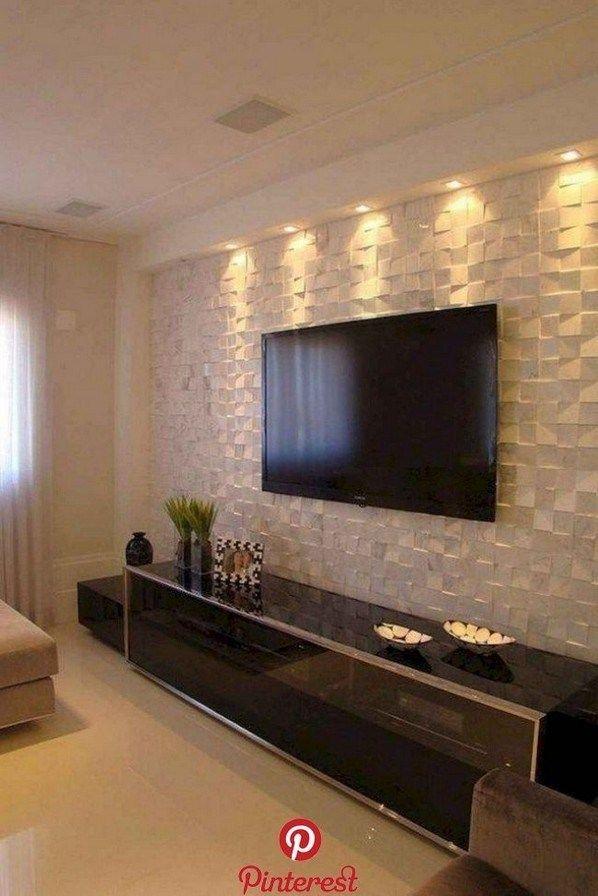 50 Wall Tv Cabinet Designs Ideas For Cozy Family Room 35 Decoracao Sala De Tv Decoracao Sala Apartamento Sala De Apartamento
