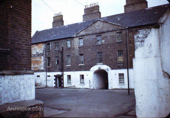 Marshalsea Barracks Dublin, 1775, demolished 1975, Bridgefoot and Bonham Street.
