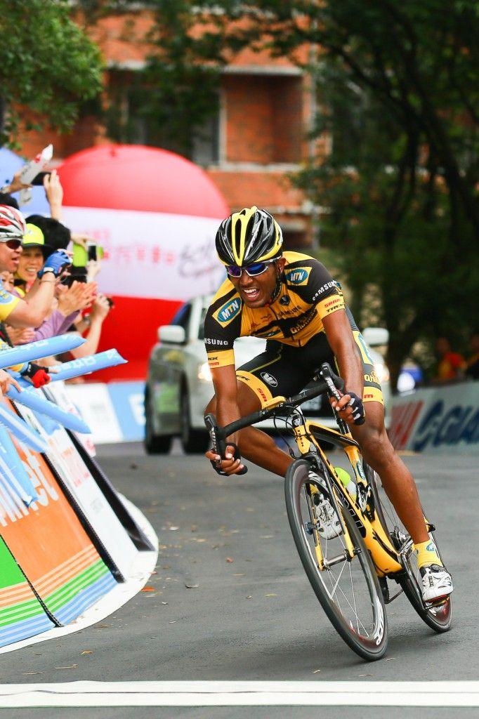 Tsgabu Grmay Wins stage 5 of the Tour of Taiwan