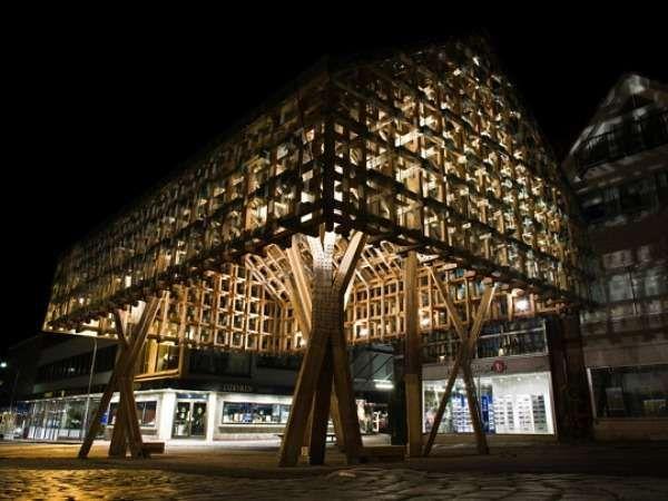 The Lantern Pavilion Sheds Light on Sustainable Design #architechture trendhunter.com