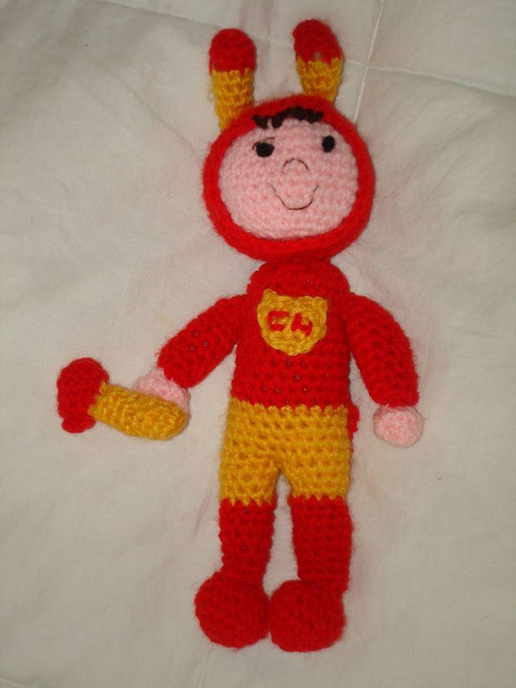 Chapulin colorado en crochet fue el primero que hice! jejejeje