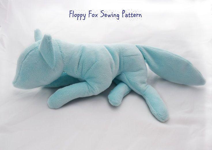 Floppy Fox Sewing Pattern by PlanetPlush on DeviantArt
