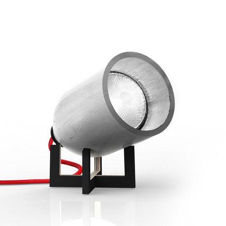 Spotlight Table Lamp // Black Stand