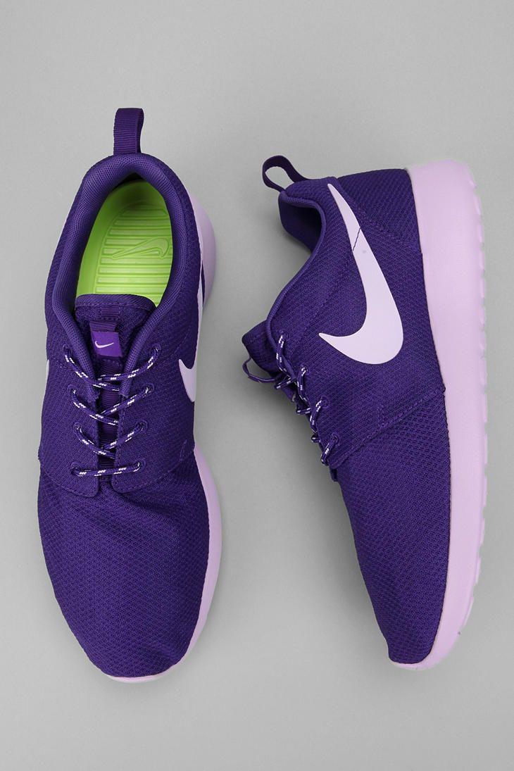 Urban Outfitters - Nike Roshe Run Sneaker: Running Shoes, Sneakers Urbanoutfitt, Nike Roshe Purple, Roshe Run, Purple Roshe, Purple Sneakers, Nike Shoes, Runningsneak Shoes, Shoes Sneakers