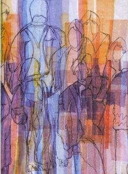 Art Threads: Friday Inspiration - Margaret Beal's Fused Fabrics...