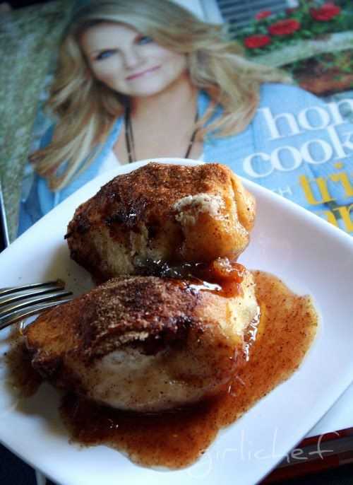 Easy Apple Dumplings and a Home Cooking with Trisha Yearwood Cookbook Review