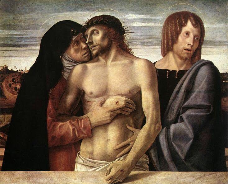 Pietà (1460 circa; Milano, Pinacoteca di Brera)