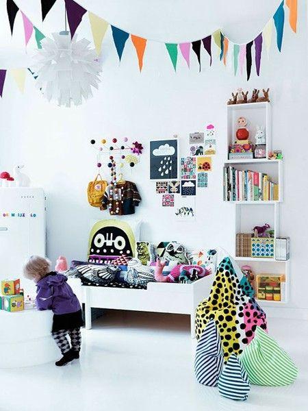 Such a CUTE & modern kids room!
