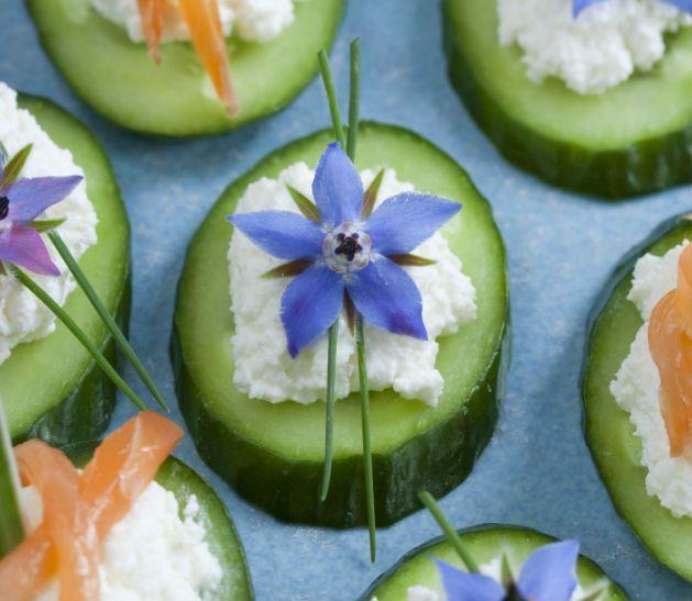 Fotos: Flores comestibles