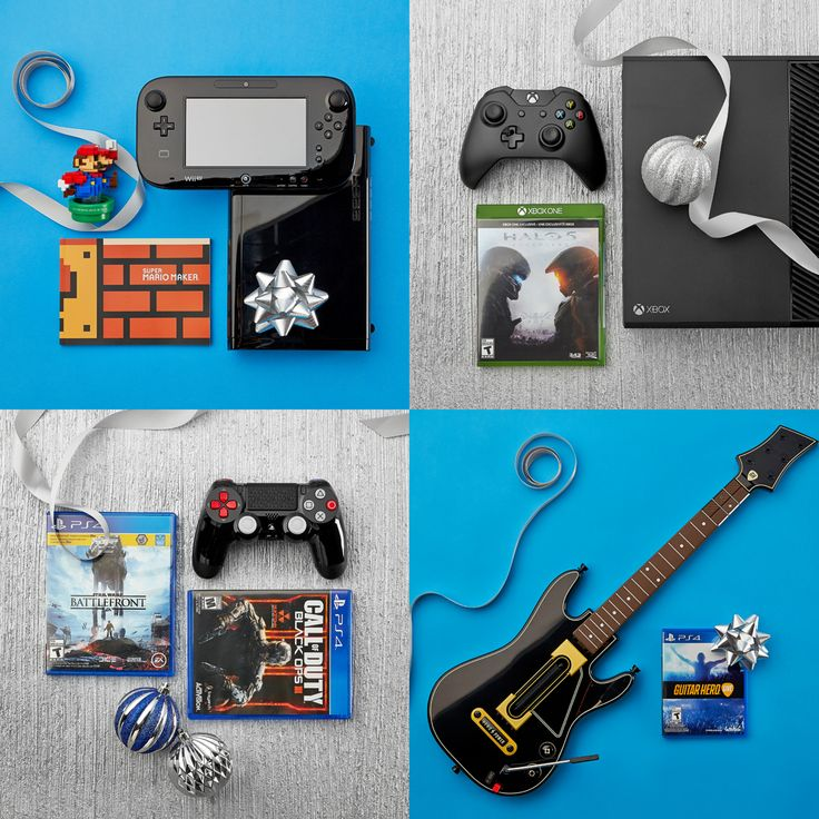 Gamer gifts to induce major geek-outs. #games #entertainment #Christmas #giftsforhim