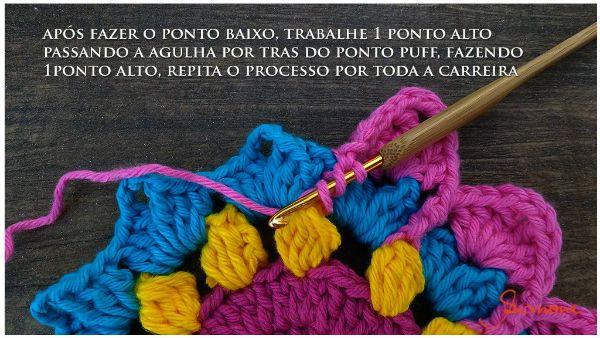 Cómo tejer una bonita flor al crochet, que puede ser base de una mandala. Paso a paso en imágenes.