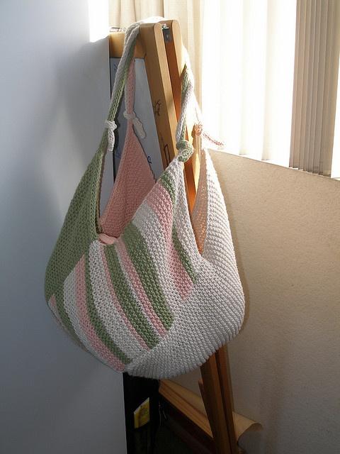 Windmill Bag by Danielle LaFramboise - free: Libraries, Knits Bags, Danielle Laframbois, Crochet Bags, Daniel Laframboi, Knits Patterns, Bags Patterns, Free Patterns, Windmills Bags