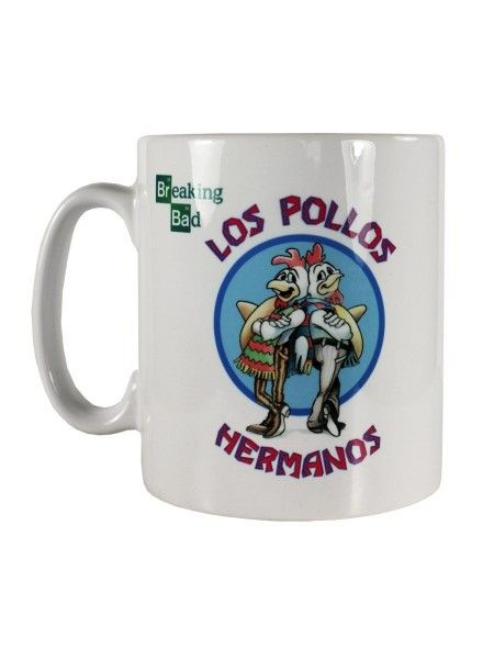 "Mug Breaking Bad ""Los pollos hermanos"""