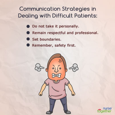 difficult communication in nursing pdf