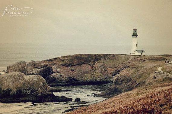 lighthouse photo lighthouse art lighthouse decor Oregon