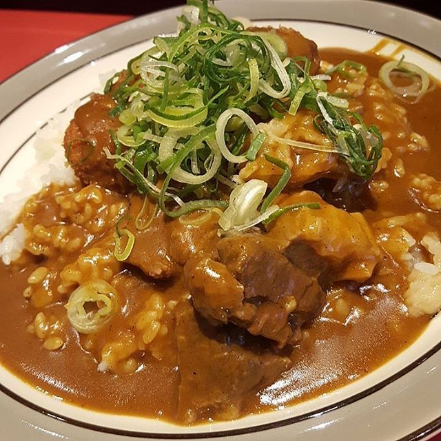 #curry#lunch#beef#curryrice#osaka#japan#桜堂#桜川#大阪#牛すじカレー#ランチ#カレー#肉#肉好き