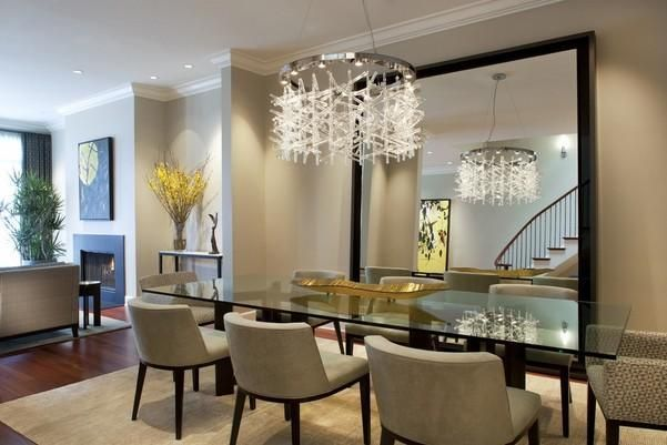 10 Unbelievable Ideas Of Modern Glass Dining Table Dining Room Small Mirror Dining Room Beautiful Dining Rooms