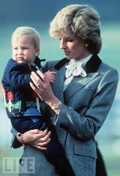 Diana and WilliamRoyal Families, Lady Diana, Princesses Diana, Royal Baby, Prince Williams, Diana Princesses, Kate, Princess Diana, Baby Photos