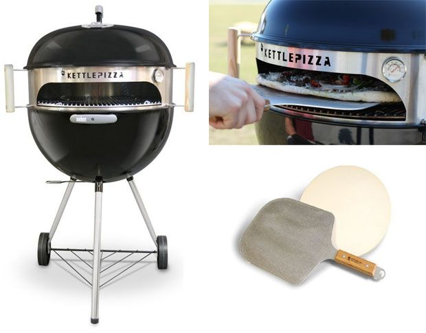Win a Kettle Pizza Deluxe USA Kit – the Kit That Turns Your Grill Into an Amazing Pizza Maker!!
